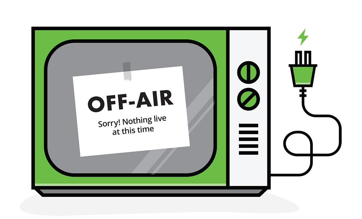 live stream offline